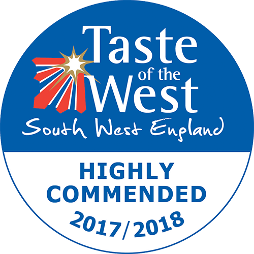 2017/2018 Highly Commended Taste of the West Award