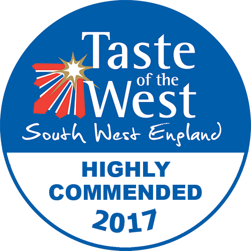 2017 Highly Commended Taste of the West Award