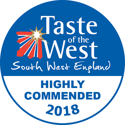 2018 Highly Commended Taste of the West Award