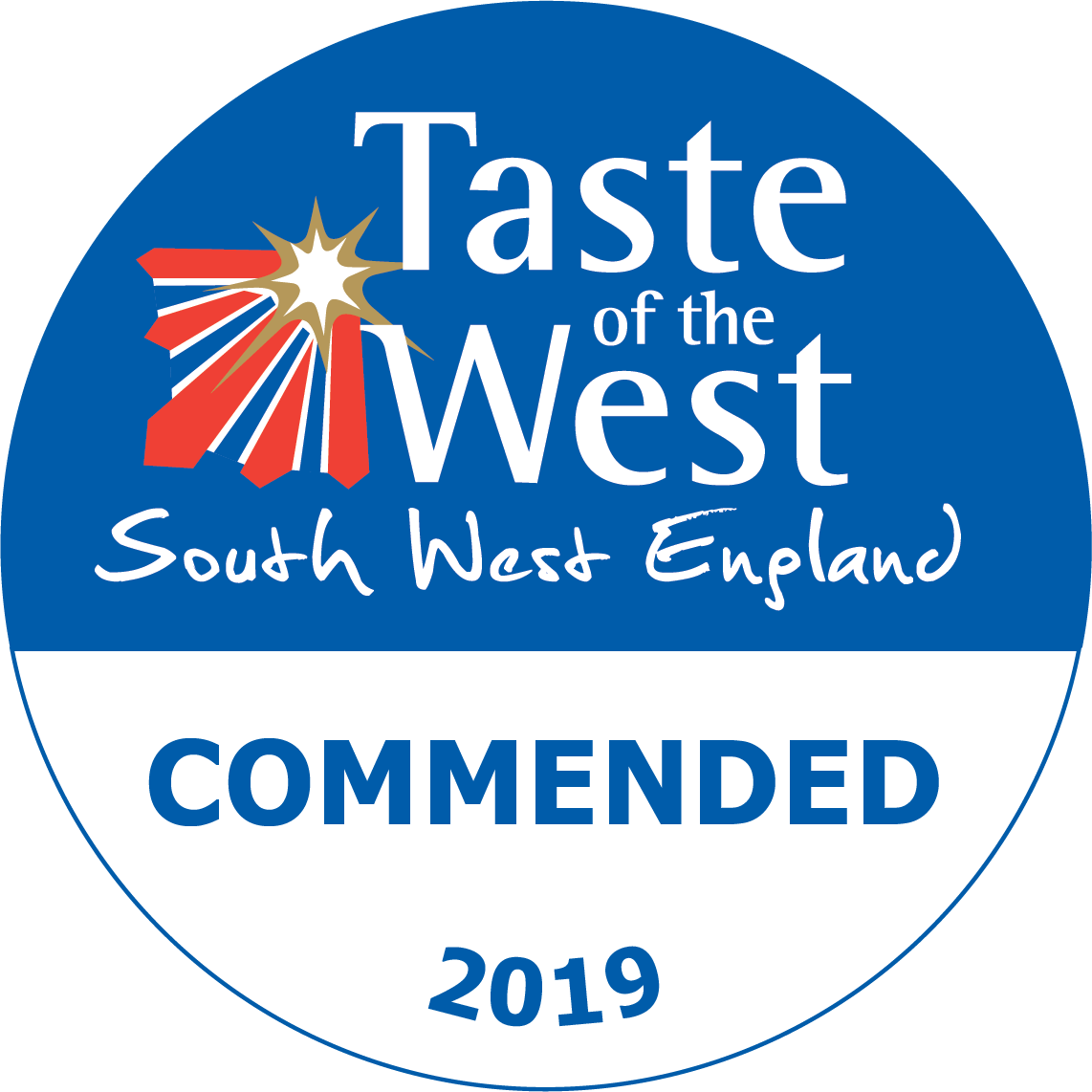 2019 Commended Taste of the West Award