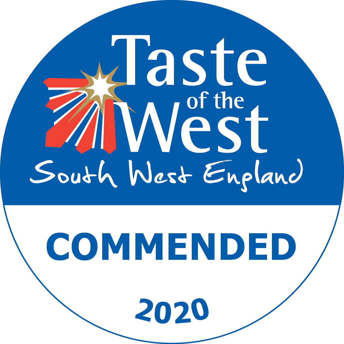 2020 Commended Taste of the West Award