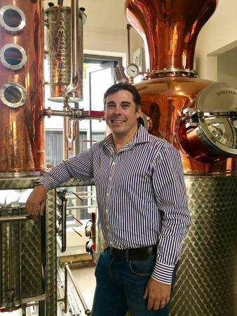 James Le Grys - Head of Sales UK for Salcombe Gin